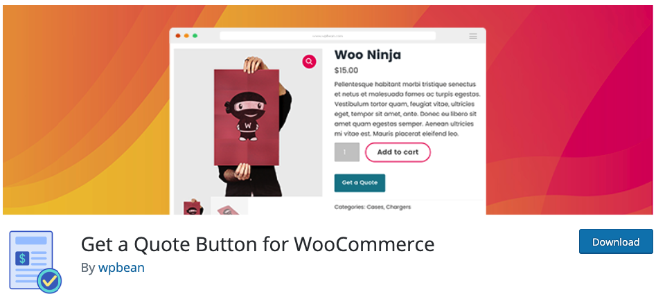 get a quote button for woocommerce wordpress plugin tutorial español