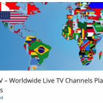WP Live TV – Worldwide Live TV Channels Player for WordPress